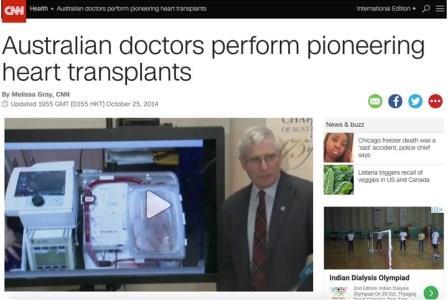Australian doctors perform pioneering operations